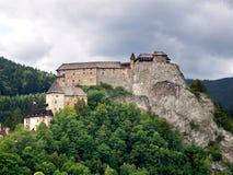 Castello di Orava Fotografia Stock Libera da Diritti