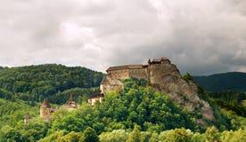 Castello di Orava Immagine Stock