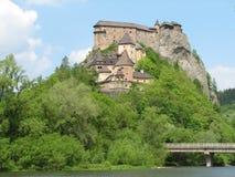 Castello di Orava Fotografie Stock Libere da Diritti