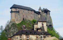 Castello di Oravsky in Slovacchia Immagine Stock Libera da Diritti
