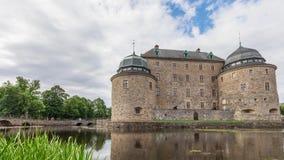 Castello di Orebro in Svezia video d archivio