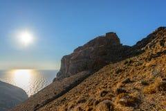 Castello di Oria o di Katakefalo Fotografia Stock