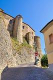 Castello di Oriolo La Calabria L'Italia Fotografie Stock Libere da Diritti