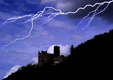 Castello di orrore Fotografie Stock Libere da Diritti