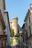 Castello di Orsini Odescalchi, Bracciano, Italia immagine stock