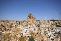 Castello di Ortahisar Fotografia Stock