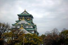 Castello di Osaka Fotografia Stock Libera da Diritti