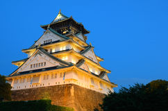 Castello di Osaka Immagine Stock