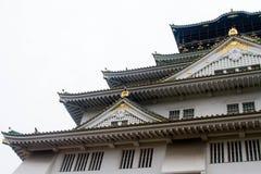 Castello di Osaka Fotografia Stock