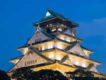 Castello di Osaka Fotografie Stock Libere da Diritti