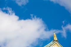 Castello di Osaka al Giappone fotografie stock