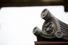 Castello di Osaka al Giappone immagini stock libere da diritti