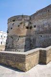 Castello di Otranto. La Puglia. L'Italia. Immagine Stock