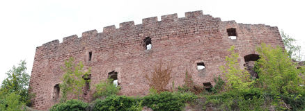 Castello di Ottrott Immagine Stock
