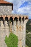 Castello di Ourem fotografie stock libere da diritti