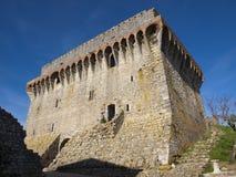 Castello di Ourem immagine stock libera da diritti