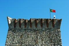 Castello di Ourem fotografia stock