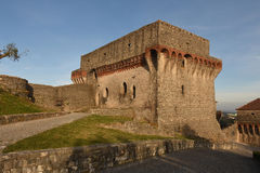 Castello di Ourem; fotografia stock libera da diritti