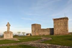 Castello di Ourem, Estremadura, fotografia stock