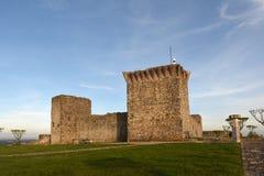 Castello di Ourem, regione di Beiras, fotografia stock libera da diritti