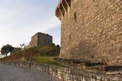 Castello di Ourem, regione di Beiras, immagini stock