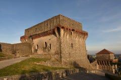 Castello di Ourem, regione di Beiras, immagine stock