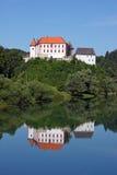 Castello di Ozalj, Croazia Fotografie Stock