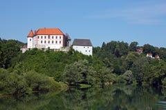 Castello di Ozalj, Croazia Fotografia Stock