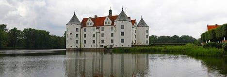 Castello di panorama Immagini Stock