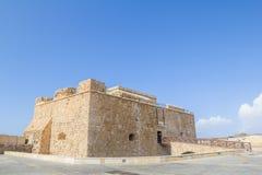 Castello di Paphos Fotografia Stock Libera da Diritti