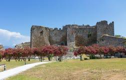 Castello di Patrasso, il Peloponneso, Grecia Immagine Stock