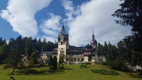 Castello di PeleÈ™ fotografia stock libera da diritti