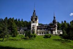 Castello di Peles, Romania Immagine Stock Libera da Diritti