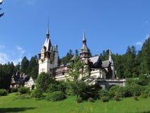 Castello di Peles - Sinaia, Romania Immagine Stock Libera da Diritti