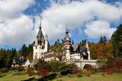 Castello di Peles, Sinaia, Romania Fotografie Stock