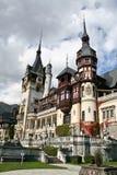 Castello di Peles, Sinaia, Romania Immagine Stock Libera da Diritti