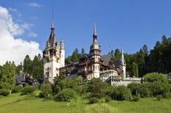 Castello di Pelesh in Sinaia (Romania) Fotografia Stock Libera da Diritti