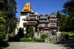 Castello di Pelisor, Romania Immagini Stock