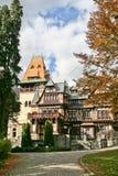 Castello di Pelisor, Sinaia, Romania Fotografia Stock Libera da Diritti