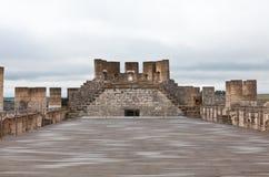 Castello di Penafiel a Valladolid Fotografia Stock Libera da Diritti