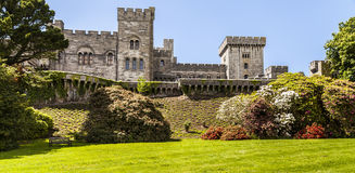 Castello di Penrhyn Fotografia Stock