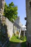 Castello di Pfeffingen Fotografie Stock Libere da Diritti