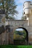 Castello di Pierrefonds Immagine Stock