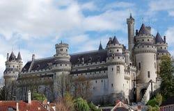 Castello di Pierrefonds Immagini Stock