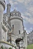 Castello di Pierrefonds Fotografia Stock Libera da Diritti