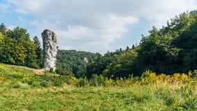 Castello di Pieskowa Skala Fotografie Stock Libere da Diritti