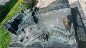 Castello di Pieskowa Skala Fotografia Stock Libera da Diritti