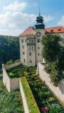 Castello di Pieskowa Skala Fotografie Stock