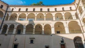 Castello di Pieskowa Skala Immagini Stock Libere da Diritti