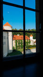 Castello di Pieskowa Skala Immagine Stock